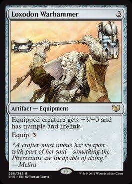 MTG Magic - SP Commander 2014 R Argentum Armor