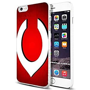 MLB Cincinnati Reds Baseball,Cool iphone 6 4.7 (+ , Inch) Smartphone Case Cover Collector iphone TPU Rubber Case White