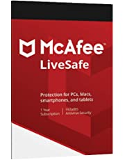 McAfee LiveSafe 2019 for Unlimited Devices - 1 Year Subscription