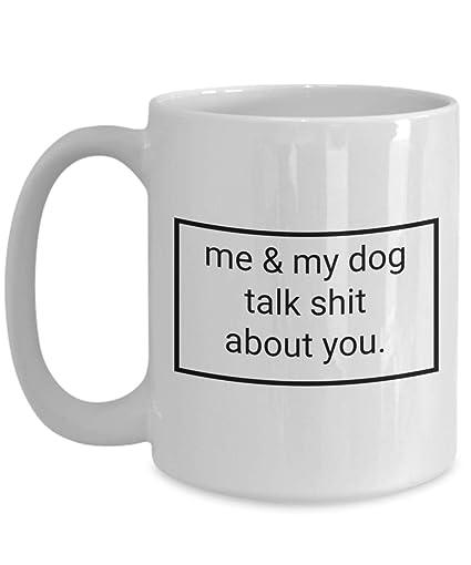 Amazon.com: Heartwarming Dog Quotes Cute Mugs – Me & My Dog ...