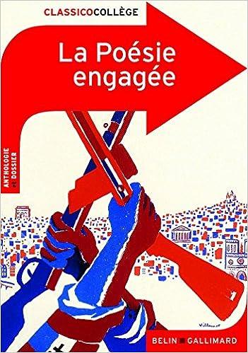 Livre gratuits en ligne La Poésie engagée pdf ebook