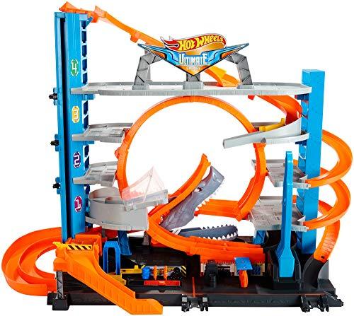 Hot Wheels Mega garaje coches juguetes Mattel FTB69