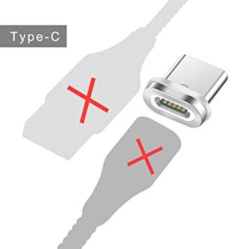 TOUSHI Cable Cargador Cable magnético 3A Carga rápida 3.0 ...