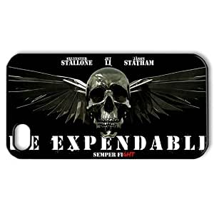 PhoneXover The Expendables Hard Case Cover Skin for iphone 4 4s