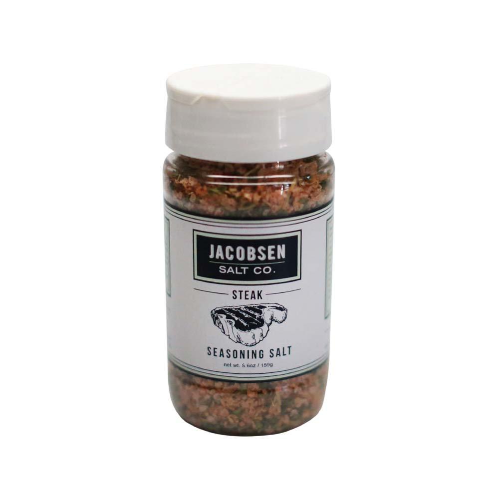 Jacobsen Salt Co. Steak Seasoning, Net Wt. 5.6 oz. Made with Hand-Harvested Sea Salt