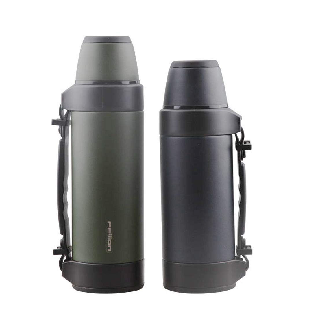 KARTELEI Edelstahl-Vakuum-Insulaterd Wasserflasche im Freien kletternder Kessel der großen Kapazität