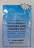 Oral Guard Dental Appliance Cleaner and Disinfectant for all Night Guards, Retainers and Dentures. 12 MONTH SUPPLY