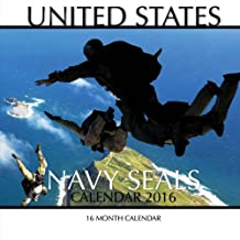 United States Navy Seals Calendar 2016: 16 Month Calendar