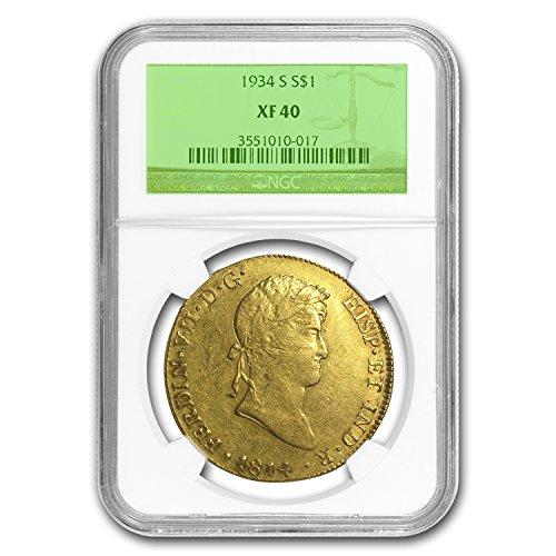1814 Lima Peru Gold 8 Escudos