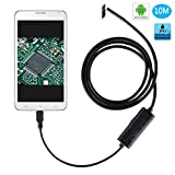 TurnRaise Android Endoscope Waterproof Snake Borescope (10M)