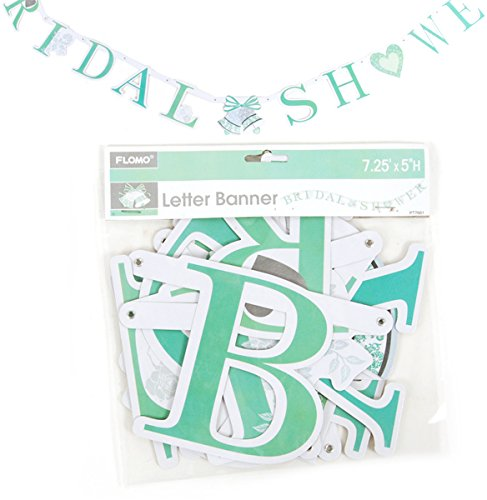 DDI 1902153 Bridal Shower Jointed Letter Banner Case of 36
