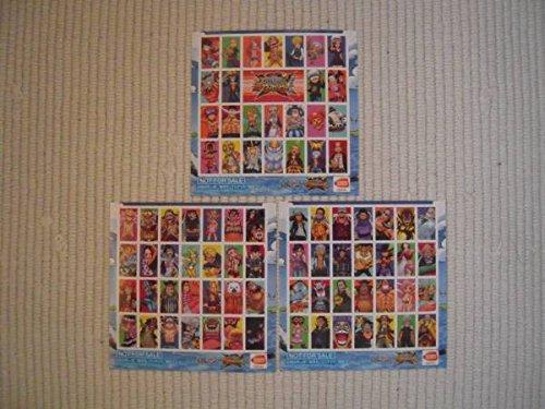 3DS ワンピース 超グランドバトルX 早期購入者特典 『グラバト」復活記念シール 3枚セットの商品画像