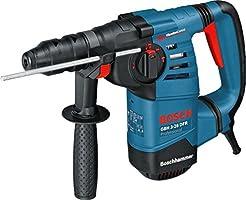 Bosch Professional 061124A000 Martillo perforador, energía de Impacto máximo 3,1 J, Cambio de Mandril SDS-Plus, 800 W, 240 V, Azul