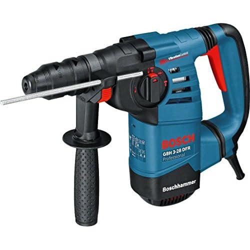 chollos oferta descuentos barato Bosch Professional GBH 3 28 DFR Martillo perforador 3 1 J máx hormigón 28 mm portabrocas SDS plus cilíndrico en maletín