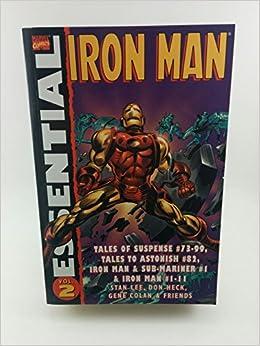 Essential Iron Man Volume 2 TPB: Amazon.es: Stan Lee, Don ...