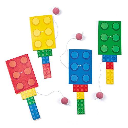 Fun Express, Costumes Block Party Paddleball Games (12) -