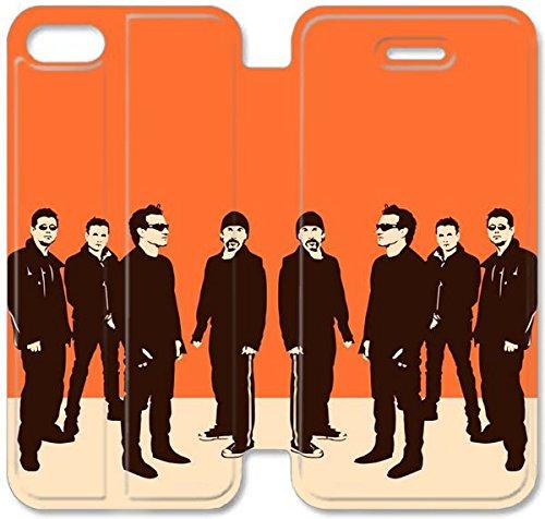 Flip étui en cuir PU Stand pour Coque iPhone 5 5S, bricolage 5 5S Coque Case étui de téléphone cellulaire en cuir U S6O8EK Retour Unique Coque iPhone