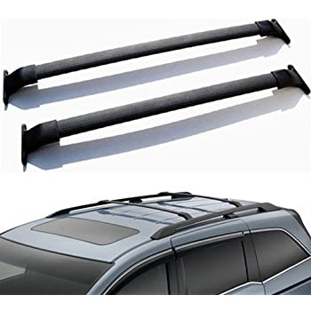 Ships From USA For Honda Odyssey Hot Sale Black Roof Top Rack Cross Bar  Luggage Rail