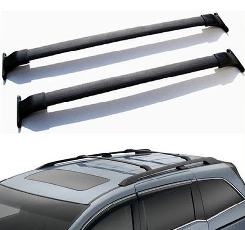 Ships From USA for Honda Odyssey Hot Sale Black Roof Top Rack Cross Bar Luggage Rail Carrier Oe Style