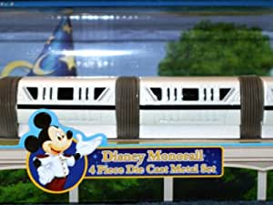 NEW Disney Die Cast Monorail Train Collector Toy WDW