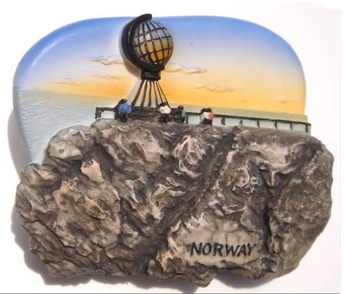 North Cape Resin (Norway North Cape Midnight Sun Europe 3D Resin TOY Fridge Magnet)