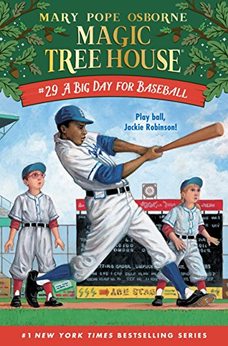 A Big Day for Baseball (Magic Tree House)