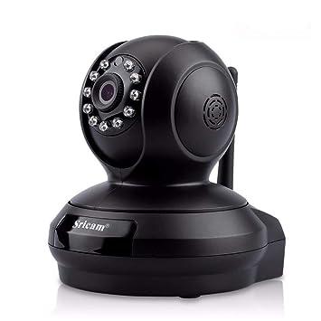 WYFDM Cámara Domo IP HD 1080P Inalámbrico para Interiores con Visión Nocturna Detección De Movimiento Seguridad