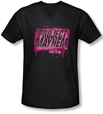 Neck V Club Shirt Herren Bekleidung Mayhem Project Fight T zwXqBB