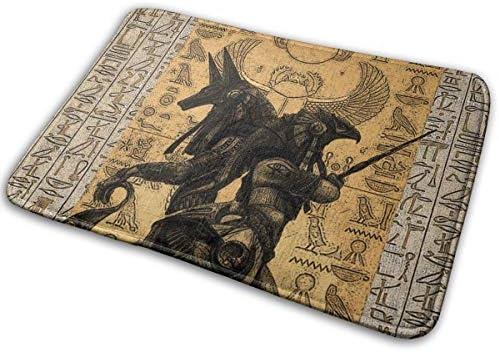 Dragon Tiger Fighting Non-slip Door Mat Room Decor Floor Rugs Bathmat 40*60cm