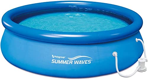 SUMMER WAVES 10' x 30″ Quick Set Above Ground Swimming Pool