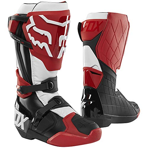 2019 Fox Racing Comp R Boots-Red/Black/White-11