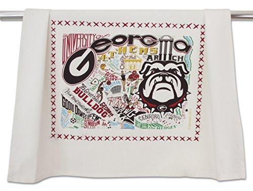 - Catstudio- University of Georgia Dish Towel, Tea Towel or Hand Towel