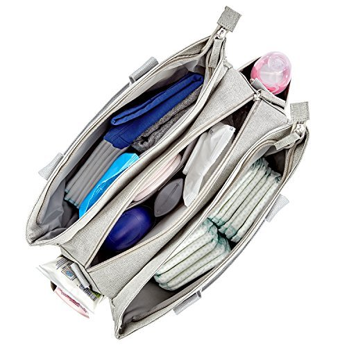 Eine so aufgeräumte Wickeltasche* lässt alles benötigte schnell finden.