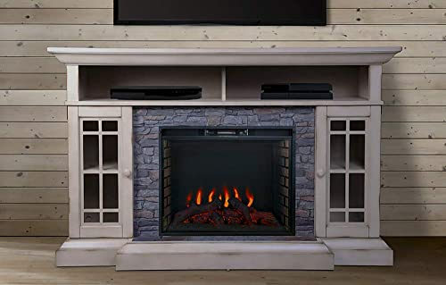 Bennett Infrared Electric Fireplace TV Stand