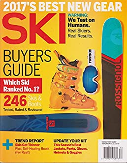 ski magazine 2017 buyers guide amazon com books rh amazon com ski magazine buyers guide 2019 ski magazine buyers guide bindings