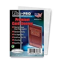 Ultra Pro Card Premium Card Sleeves Pack (100 Sleeves)