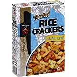 Umeya Rice Cracker Box Luau Mix, 4.75-Ounce Units (Pack of 6)