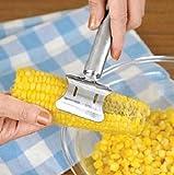 Easy Corn Cutter Stainless Steel Corn Cob Peeler