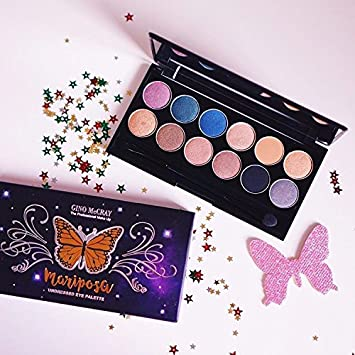 GINO McCRAY The Professional Make Up Mariposa Undressed Eye Palette
