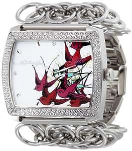 Amazon.com: Ed Hardy Women's LI-BR Lilly Bird Watch: Ed Hardy: Watches