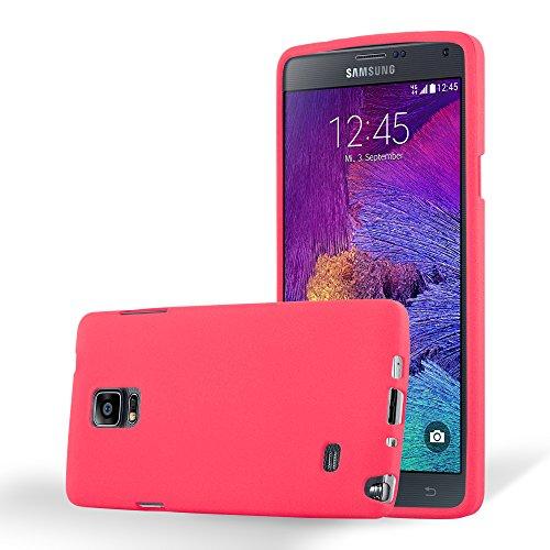 Cadorabo - Cubierta protectora para Samsung Galaxy NOTE 4 de silicona TPU en diseño Escarcha