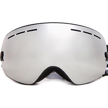 61765d0582 Lunettes de Ski Masque de Snowboard Hommes et Femmes-Anti-UV400, Anti-
