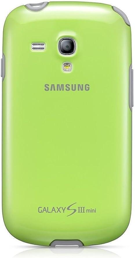 Samsung Cover Plus - Funda para Samsung Galaxy S3 Mini, color verde: Amazon.es: Electrónica
