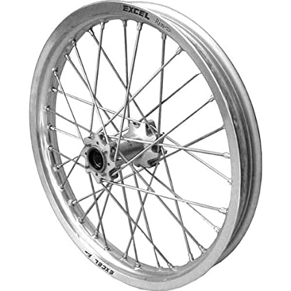 amazon com excel pro series g2 front wheel set 17x3 50 silver