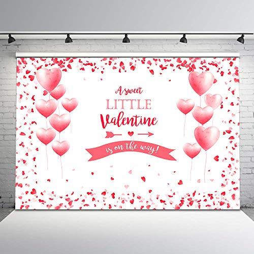 Valentine's Baby Shower Backdrop