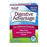 stop gas - Digestive Advantage Gas Defense Probiotic, 32 Capsules