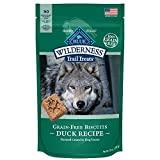 BLUE Wilderness Trail Treats Grain Free Duck Biscuits Dog Treats 10-oz