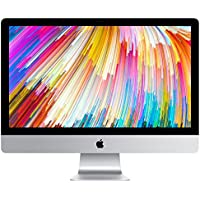 Apple 27 iMac with Retina 5K Display (Mid 2017) - 3.5GHz Intel Quad-Core i5 Processor, 16GB DDR4 Memory, 3TB Fusion Drive, 4GB AMD Radeon Pro 575, macOS, Silver, Magic Keyboard - Spanish