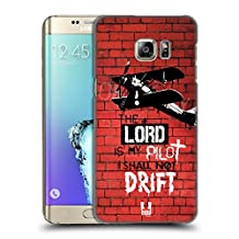 Head Case Designs He Is My Pilot Christian Rider Hard Back Case for Samsung Galaxy S6 edge