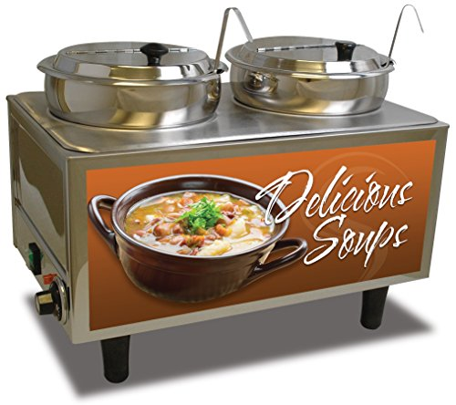 Benchmark USA 51072S Soup Station Warmer, 17